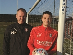 Ben Wiles and Matt Hamshaw: How a nine-year-old prospect grew up to make Rotherham United's first team