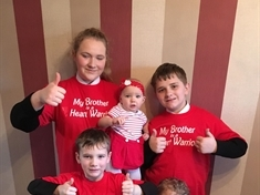 Herringthorpe mum urges people to wear red and help more children with congenital heart disease