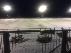 Rotherham Titans' match frozen off