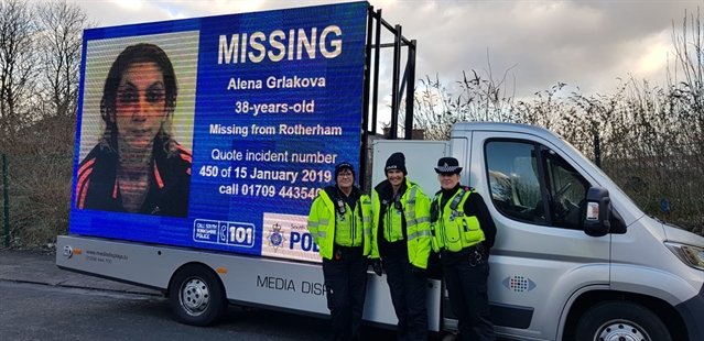 Did missing Swinton woman Alena Grlakova ask you for a lift?