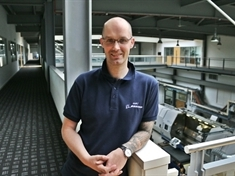 Engineer Alexei aiming for TV glory on the Great British Sewing Bee