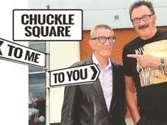 Advertiser takes Chuckle Square campaign to Rotherham Town Hall