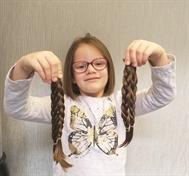 Big-hearted Alannah loses locks for Little Princess Trust