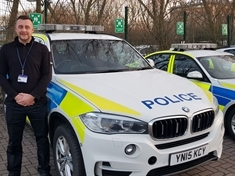 Carl's special journey to being a South Yorkshire Police officer