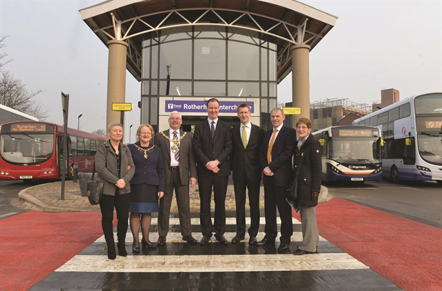 First Look At New Look Rotherham Interchange After 163 12