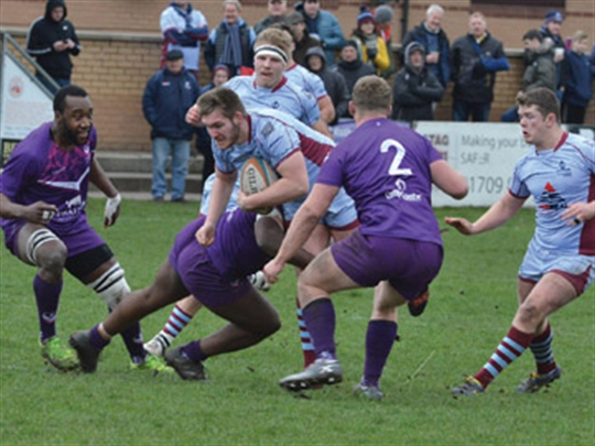 Rotherham Titans to do battle with joint leaders
