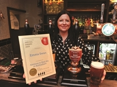 The Bees' knees: Publican honoured for making Harthill's Beehive the borough's best