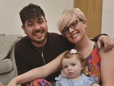 VIDEO: Parents' pride as baby Primrose is picked as deaf magazine's cover star