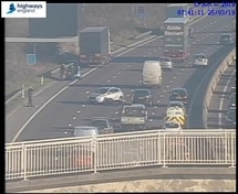 TRAFFIC: M1 reopens near Thorpe Hesley after collision