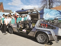 Eat your heart out, Marty McFly! DeLorean gets £2 million Rotherham arts bid off and running