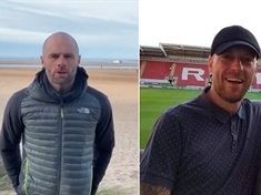 VIDEO: Rotherham United boss Paul Warne's message of support for family of fan Danny Dix