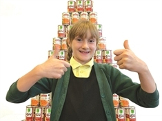 "St Bede's pupil's ""souper"" design wins Baxters can competition"