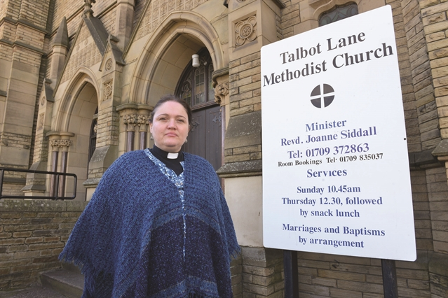 Talbot Lane church up for sale as congregation dwindles