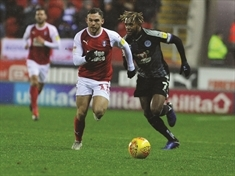 On-field bust-up between Rotherham United duo Jon Taylor and Jerry Yates