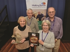 National recognition for kind-hearted Rotherham dementia volunteers