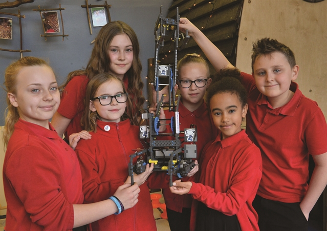 Robot warriors preparing to battle for Wath on the world stage