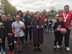 New Clifton Park tennis courts open