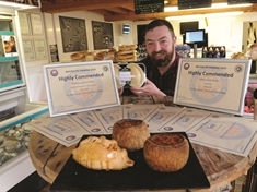 Rotherham farm shop team crowned pastry kings again at British Pie Awards