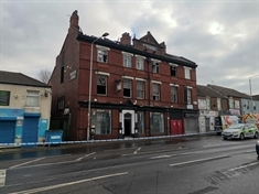Fire at Wellgate pub under investigation