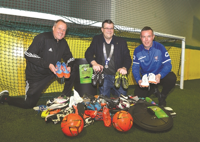 Eastwood-based boot bank boosting young footballers