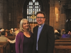 New Vicar of Rotherham installed at Minster