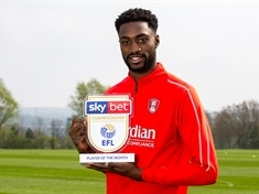 Rotherham United's Semi Ajayi wins Sky Bet Player of the Month award