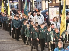 GALLERY: Rotherham Scouts turn out in force for St George's Day parade
