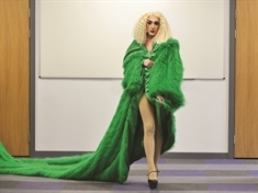 Drag queen Fifi la True thanks Rotherham fashion students for costume creations
