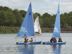 Try your hand at sailing during club open days
