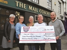 Brother of tragic Danny Dix hails 'phenomenal' total raised by Wellgate pub night