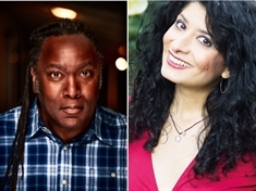 Reginald D Hunter, Shappi Khorsandi and Phill Jupitus,  top Tramlines comedy bill