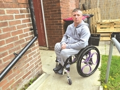 Disabled dad (37) suffers flashbacks over horrific stabbing attack