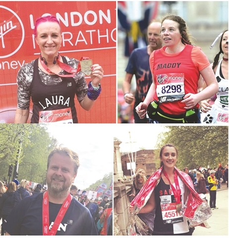 London Marathon runners do Rotherham — and their charities — proud