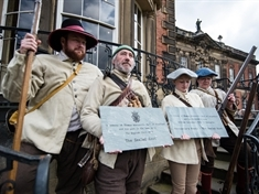 Turn back time with Civil War action at Wentworth Woodhouse