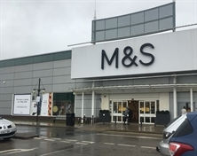 Marks and Spencer to check out of Parkgate tomorrow