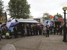 Extra help for veterans after launch of Rotherham MCVC vehicle