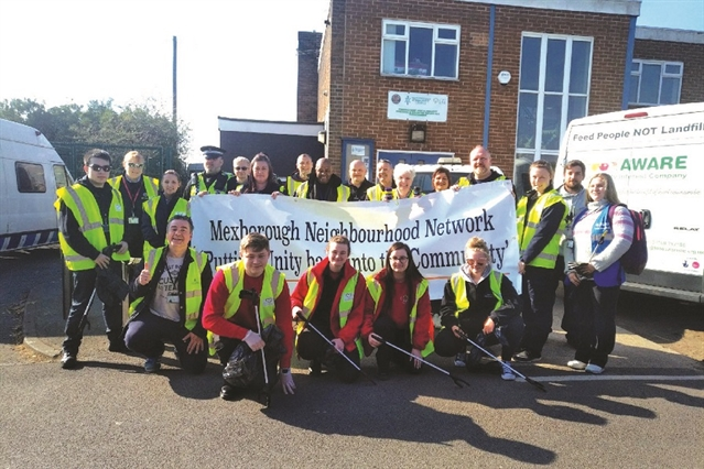 Mexborough litter blitz team collect 100 TONNES of waste in two days