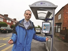 New £6,000 bus stop installed in Maltby - on road with no bus route