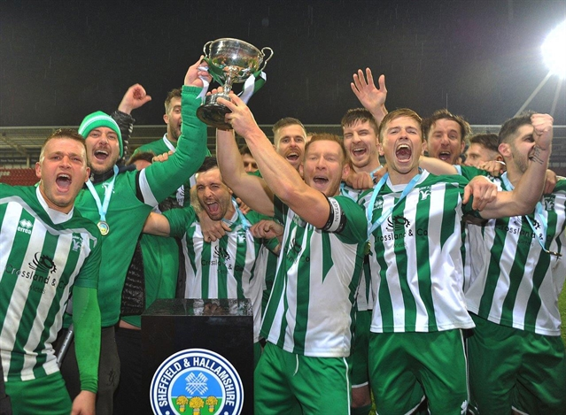 Senior Cup champs Joker celebrate two hat-tricks