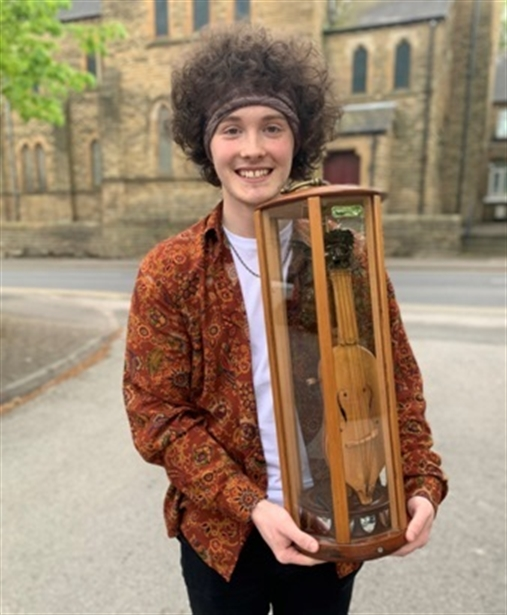 Young Tom proves he's a Master of music with Wath Festival win