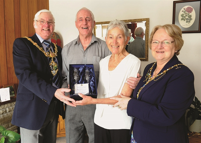 Diamond couple's 60-year bond forged in the foundry