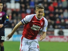 Rotherham United's Will Vaulks in Wales training squad for Portugal