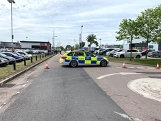 Boy (3) seriously injured in Parkgate Shopping collision