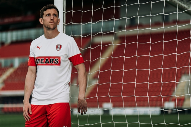 Rotherham United unveil new away kit