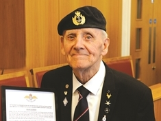 Korean War veteran Colin Glossop relives his heroics after being honoured 70 years on