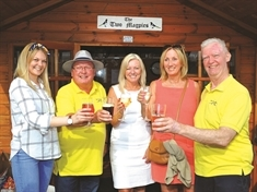 Beer lovers flock to Two Magpies charity ale fest