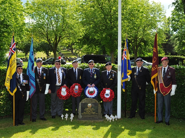 Rotherham pays tribute to D-Day heroes