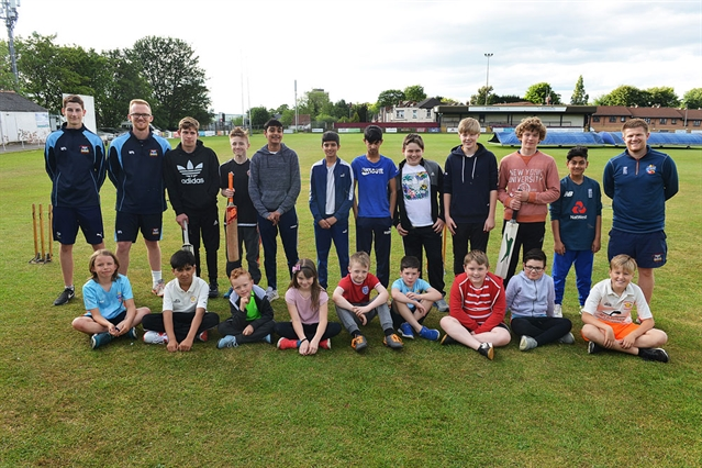 Scene set for Rotherham Town's Cricket World Cup fun day
