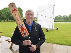British Empire Medal for long-serving cricket stalwart Alan Vollans