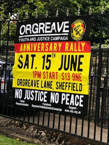 March to mark 35th anniversary of the Battle of Orgreave this Saturday